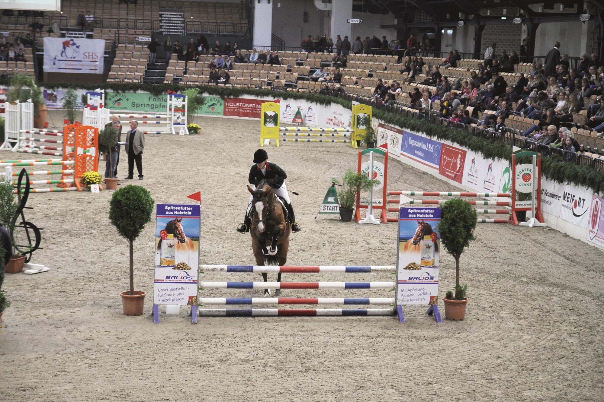 Die Siegerin der 85er Klasse Anne Katharina Bartels. Foto: Christian Flessing